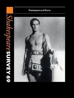 Shakespeare Survey: Volume 69 book