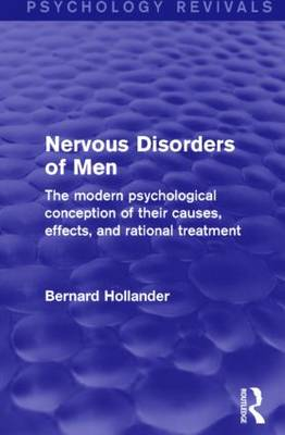 Nervous Disorders of Men (Psychology Revivals) book