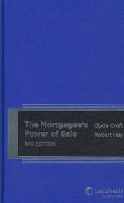 Mortgagee's Power of Sale by C Croft