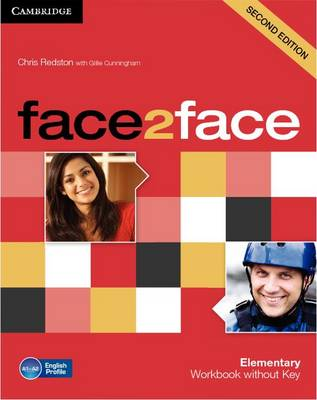 face2face Elementary Workbook without Key book