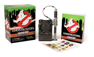 Ghostbusters: Proton Pack and Wand by Running Press