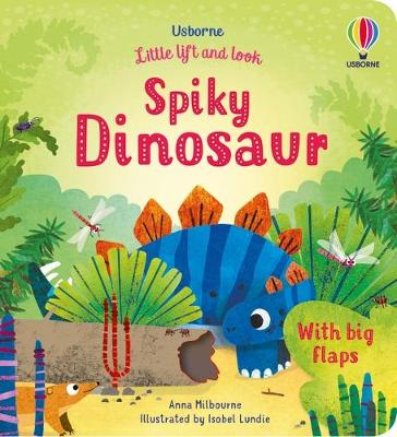 Little Lift and Look Spiky Dinosaur by Anna Milbourne
