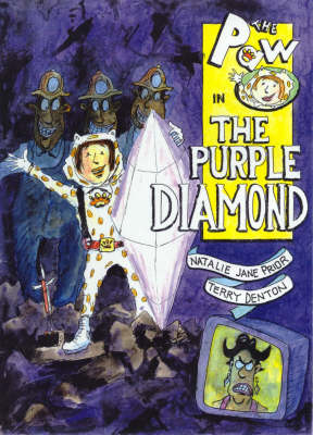 The Paw in the Purple Diamond by Natalie Jane Prior