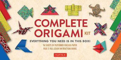 Complete Origami Kit: [Kit with 2 Origami How-to Books, 98 Papers, 30 Projects] This Easy Origami for Beginners Kit is Great for Both Kids and Adults by Tuttle Publishing