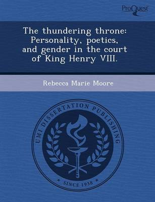 The Thundering Throne: Personality by Amanda Adeline Melillo