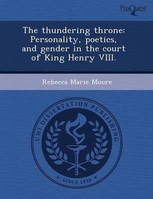 The Thundering Throne: Personality by Amanda Adeline Melillo