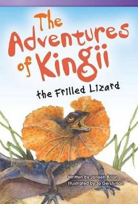 Adventures of Kingii the Frilled Lizard book