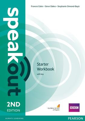 Speakout Starter 2nd Edition Workbook with Key by Frances Eales