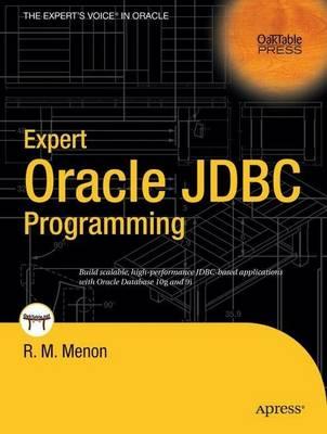 Expert Oracle JDBC Programming by R.M. Menon