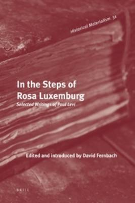 In the Steps of Rosa Luxemburg by David Fernbach