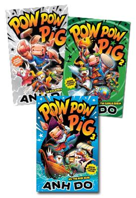 Yours Troolie, Alice Toolie Set of 3 book