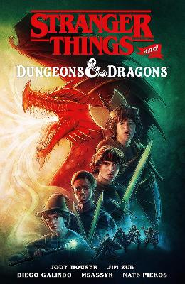 Stranger Things And Dungeons & Dragons book