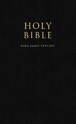 HOLY BIBLE: King James Version (KJV) Popular Gift & Award Black Leatherette Edition by