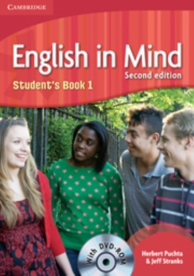English in Mind Level 1 Student's Book with DVD-ROM by Herbert Puchta