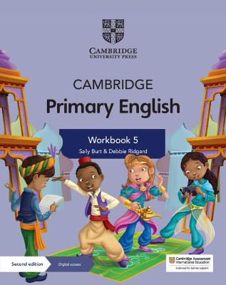 Cambridge Primary English Workbook 5 with Digital Access (1 Year) by Sally Burt