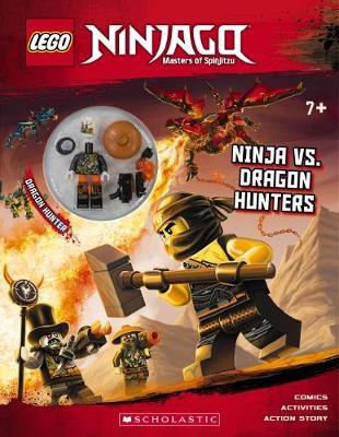 LEGO Ninjago: Ninja Vs. Dragon Hunters + Minifigure book