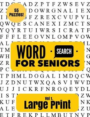 Large Print Word Search for Seniors by Puzzle Pyramid