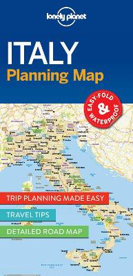 Lonely Planet Italy Planning Map book