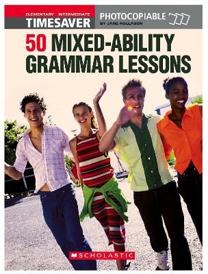 50 MIxed-Ability Grammar Lessons book