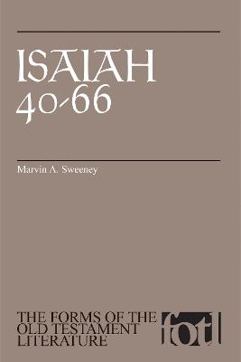 Isaiah 40-66 by Marvin A. Sweeney