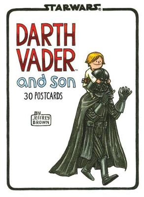 Darth Vader and Son Postcard Book by Jeffrey Brown