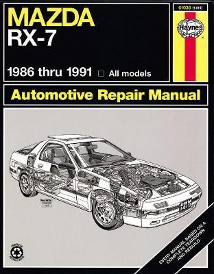 Mazda RX-7 (1986-1991) Automotive Repair Manual book