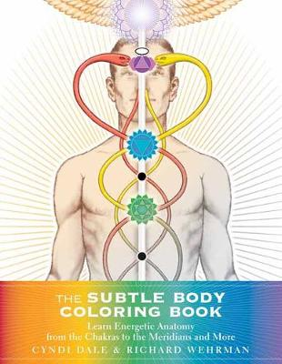 Subtle Body Coloring Book by Cyndi Dale