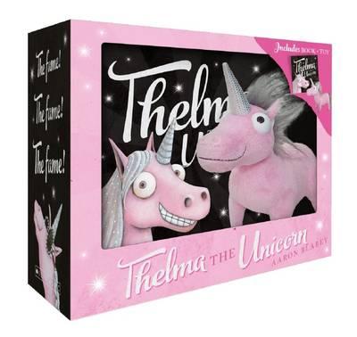 Thelma the Unicorn Boxed Set Mini HB + Plush book