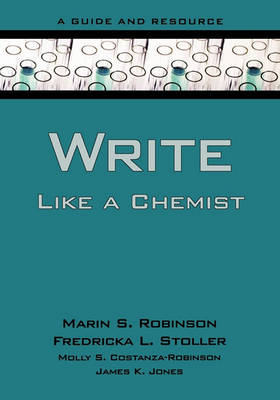 Write Like a Chemist book