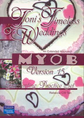 Toni's Timeless Weddings Myob V15 Account by Tan
