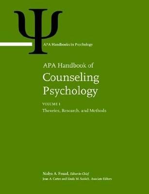 APA Handbook of Counseling Psychology by Nadya A. Fouad
