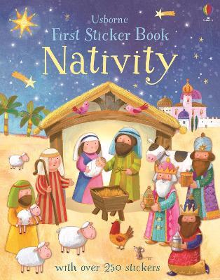 First Sticker Book Nativity by Felicity Brooks