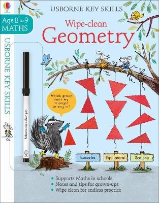 Wipe-Clean Geometry 8-9 book