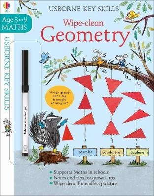 Wipe-Clean Geometry 8-9 by Holly Bathie