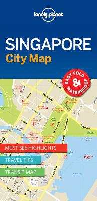 Lonely Planet Singapore City Map by Lonely Planet