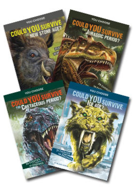 You Choose Prehistoric Survival Set of 4 by null