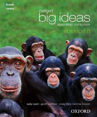 Oxford Big Ideas Science 8 Australian Curriculum Student book + obook assess book