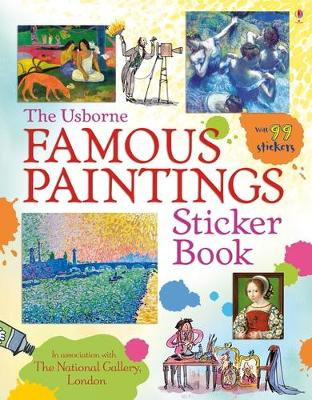 Famous Paintings Sticker Book by Mark Beech
