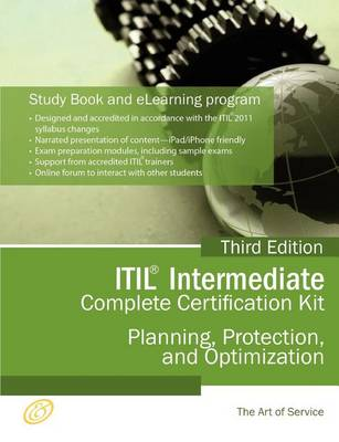 Itil Planning, Protection and Optimization (PPO) Full Certification Online Learning and Study Book Course - The Itil Intermediate PPO Capability Complete Certification Kit, Third Edition by Ivanka Menken