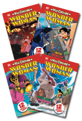 You Choose Wonder Woman Set of 4 by null