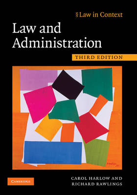 Law and Administration by Carol Harlow