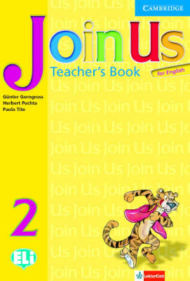 Join Us for English Level 2 Teacher's Book Polish Edition book