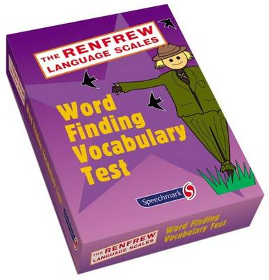 Word Finding Vocabulary Test by Catherine Renfrew