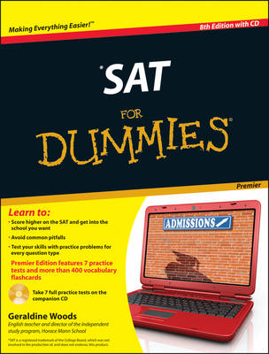 SAT For Dummies: with CD by Geraldine Woods