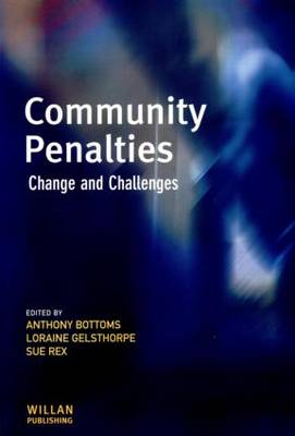 Community Penalties by Sir Anthony Bottoms