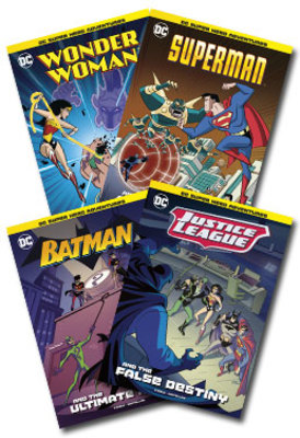DC Super Hero Adventures Set of 4 by null