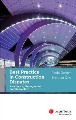 Best Practice in Construction Disputes book