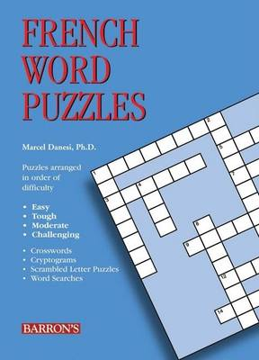 French Word Puzzles by Marcel Danesi