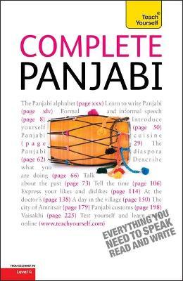 Complete Punjabi Beginner to Intermediate Course book