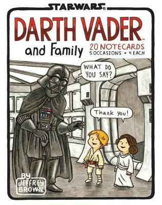 Darth Vader and Family Notecards by Jeffrey Brown